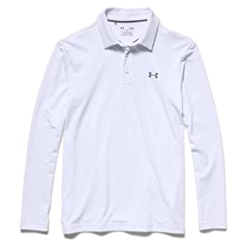 911e0c11a7 Under Armour Mens UA Playoff Long Sleeve Polo X-Large Red/Stealth ...