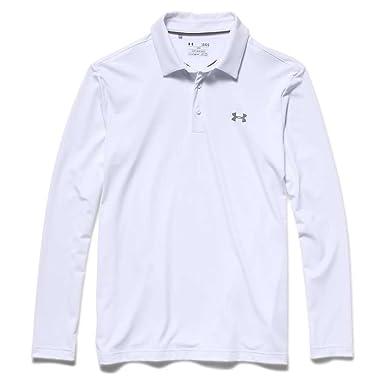 2ebb08d3 Under Armour Men's Long Sleeve Captain´s Choice Golf Polo Shirt Black at  Amazon Men's Clothing store: