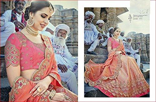 nozze festa indiana la abito choli tradizionale ETHNIC emproum EMPORIUM personalizzato lehenga kameez da dupatta indossare per 2741 misurare seta salwar etnica anarkali donne sposa Ethnic di K7qHzw7T
