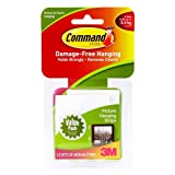 Command Picture Hanging Strips, White, 12-Medium