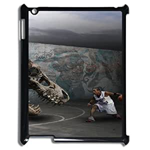 Custom Allen Iverson and Signature Pattern Phone Case For Ipad 2/3/4 Case RVNLI_W460340