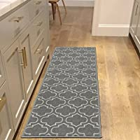 Sweethome Stores SH1233-20X59 FBA_ROSE1233-20X59 Runner Rug