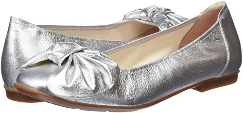 Versalles Ballet Flats Toe Sabrinas Women''s Closed plata Silver AFfqx5On