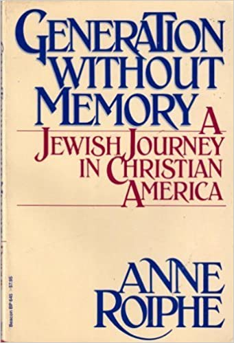 Book Generation without memory: A Jewish journey in Christian America