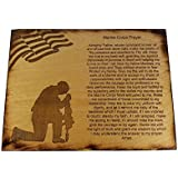 Marine Corps Prayer Sign - USMC Prayer - USMC Gift - 8.5 x 11.5 Marine Corps Prayer Sign