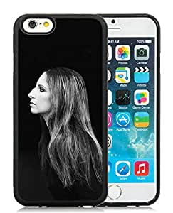 Fashionable And Unique Designed Case With Barbra Streisand Black For iPhone 6 4.7 Inch TPU Phone Case
