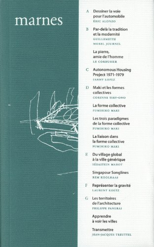 Marnes, documents d'architecture, vol. 2