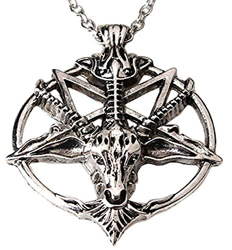 devil pentagram necklace - 1