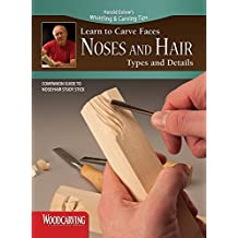 Learn to Carve Faces: Noses and Hair (Booklet): Companion Guide to Noses and Hair Study Stick