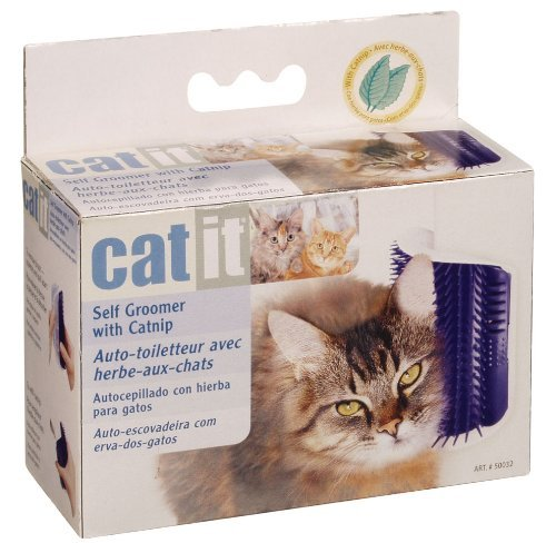 Amazon.com : Scaredy Cut Silent Pet Clipper in Pink with Catit Self Groomer & Catnip : Pet Supplies
