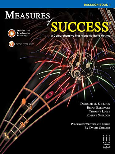 Music Book 1 Bassoon (Measures of Success, Bassoon Book 1)