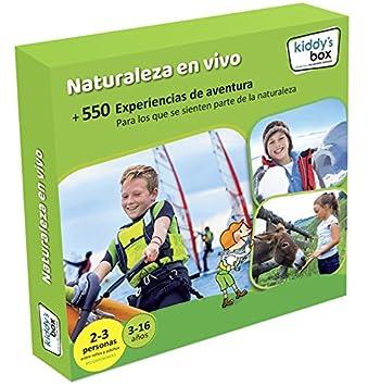 Caja regalo infantil Naturaleza En Vivo Kiddys Box