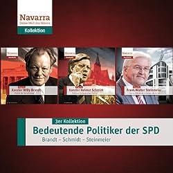 Bedeutende Politiker der SPD: Brandt - Schmidt - Steinmeier (3er Kollektion)