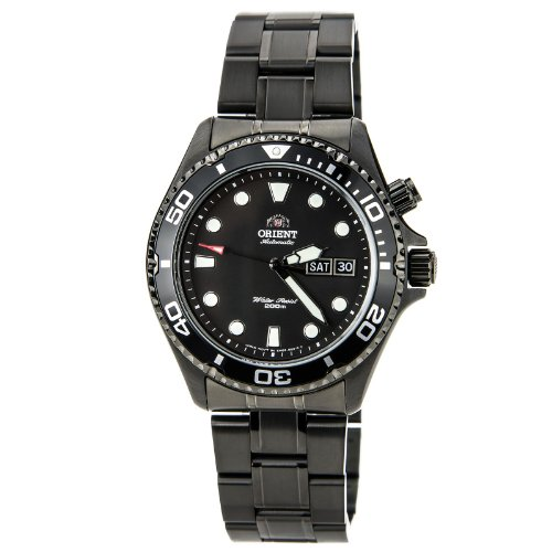Orient Men's EM65007B Stainless Steel Automatic Dive Watch