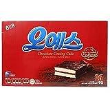 Haitai Ohyes Premium Chocolate Coated Cream Cake 448G X 3 오예스