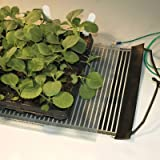 Two Ken-Bar Agritape Seed Starting 11'' x 10' Heat Mats with Grounding Screens and One AT-JR Thermostat Controller
