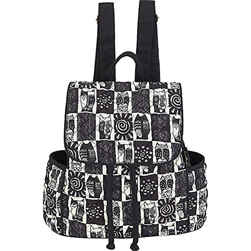 Laurel Burch Black & White Wild Cats Backpack (Multi) ()