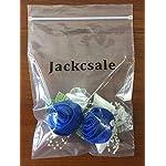 Jackcsale-Wedding-Bridal-Corsage-Bridesmaid-Wrist-Flower-Corsage-Flowers-for-Wedding-Blue-Pack-of-2