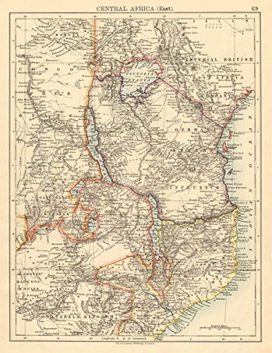 Amazon.com: Colonial East Africa German/British/Portuguese East