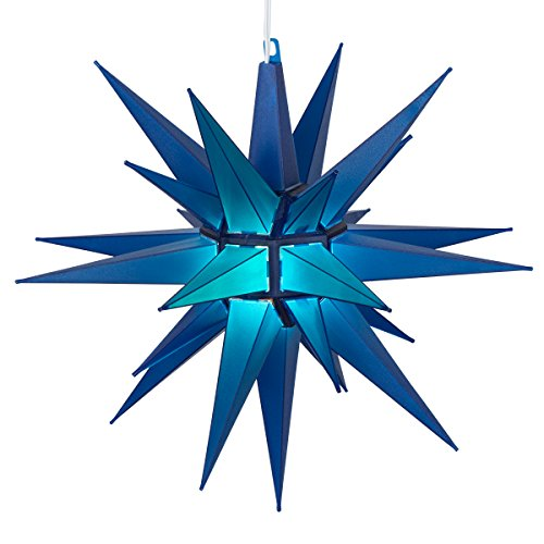 Kringle Traditions Led Moravian Star Light  14   Blue