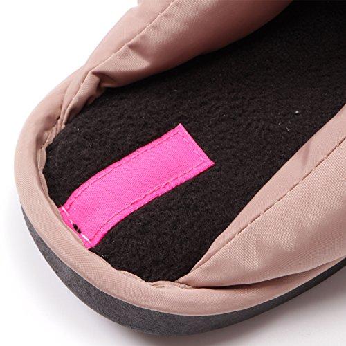 Meets Color Para Mujer Pink Por Estar De Casa Thick Bottom Zapatillas Wood 5Bn0wARdqB
