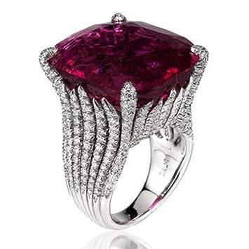 Amazon Com Kintaz Women S Engagement Wedding Ring European And