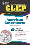 CLEP American Government w/ CD-ROM (CLEP Test Preparation) by Jones Ph.D., Dr. Preston Published by Research & Education Association PAP/CDR edition (2009) Paperback