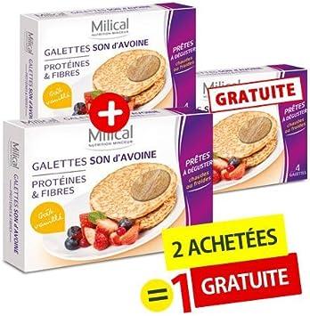Milical - Caja de galletas de salvado de avena con gusto a ...