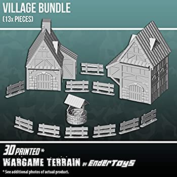 Amazon com: War World Gaming WWG Fantasy Cottage Building in