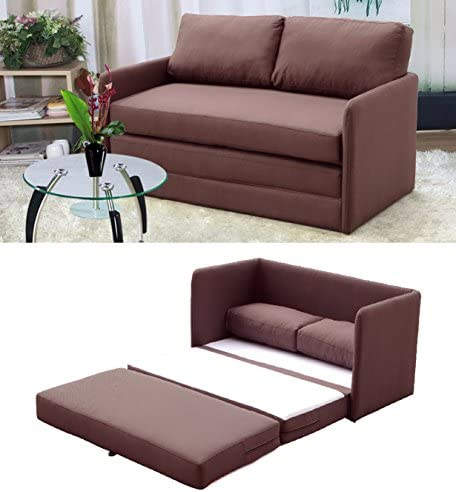 Container Furniture Direct Kathy Collection Modern Contemporary Fabric Upholstered Livingroom Loveseat Sleeper