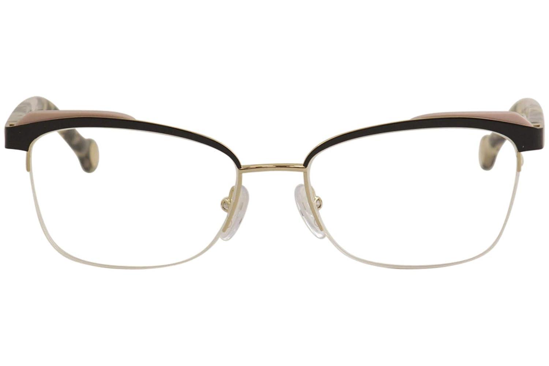 Eyeglasses CH by Carolina Herrera VHE 111 K Gold Black 0301