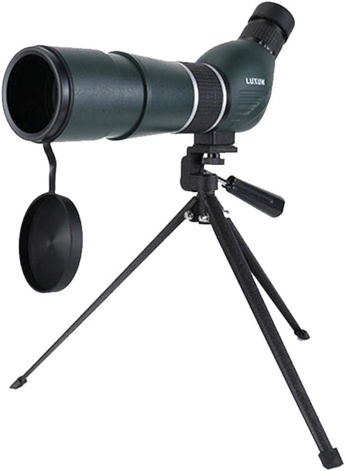 DOTXX 15-45X60 Telescopio Terrestre Verde, Profesional HD con Trípode y Adaptador de Smartphone para Observación de Aves, Tiro Al Blanco y Acampar y Excursionismo: Amazon.es: Deportes y aire libre