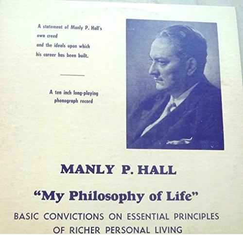 Price comparison product image My Philosophy Of Life: Basic Convictions On Essential Principles Of Richer Personal Living. LP Record