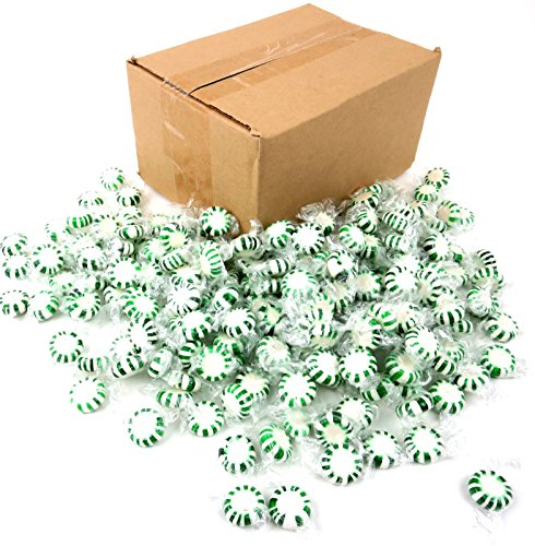 (Quality Candy Spearmint Starlights - 2 Lb Bag Frustration Free Packaging)