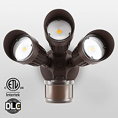 20W 2-head /30W LED 3-head Security Light with Round Sensor