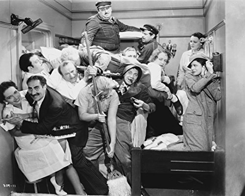 Marx Brothers In Movie Scene Photograph Print - 10