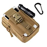 LYMBABETactical Molle Pouch Military EDC Utility Gadget 1000D Nylon Pouch for iPhone 6S Plus