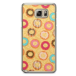 Donuts 1 Samsung Galaxy Note 5 Transparent Edge Case - Bakery Collection