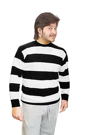 d1a646d79ee Amazon.com  Rimi Hanger Men s Freddy KRUGER Red   Green Stripe Knitted  Jumper Halloween Fancy Dress (S-2X)  Clothing