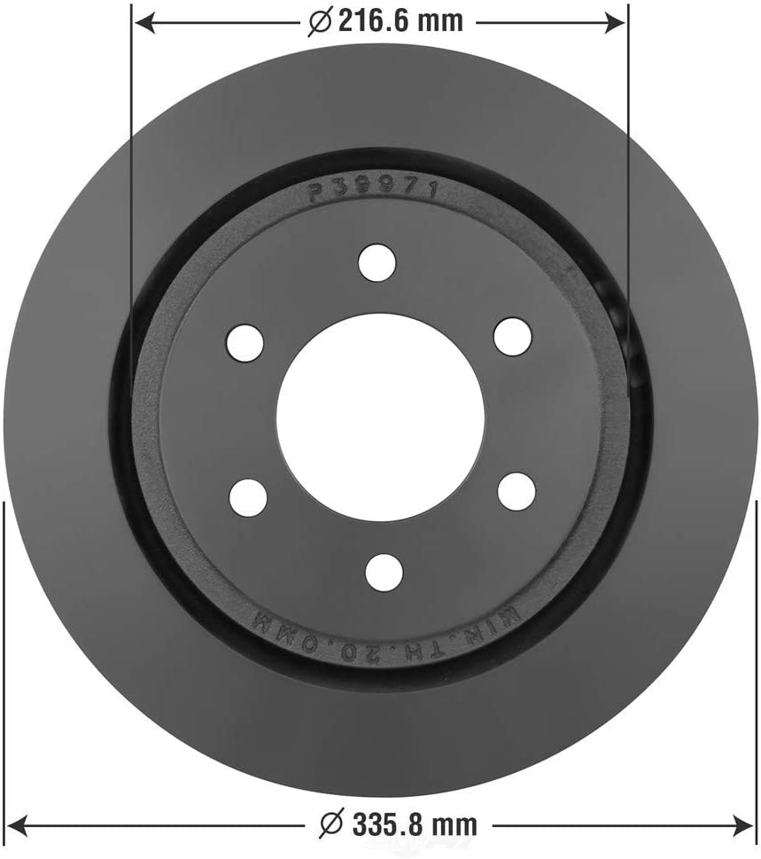 Disc Brake Rotor-XL Rear OMNIPARTS 13064395 fits 15-17 Ford F-150