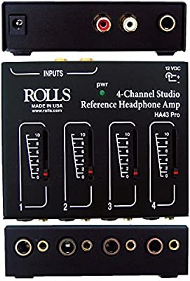 ROLLS Four Channel Pro Headphone Amp.