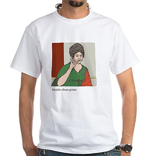 (CafePress Metella_col White T-Shirt - 100% Cotton T-Shirt, White)