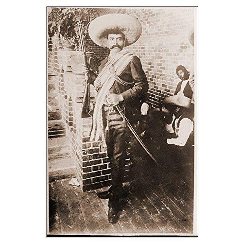 Mexican Revolution Poster (CafePress - Emiliano Zapata Mexican Revolution - 23