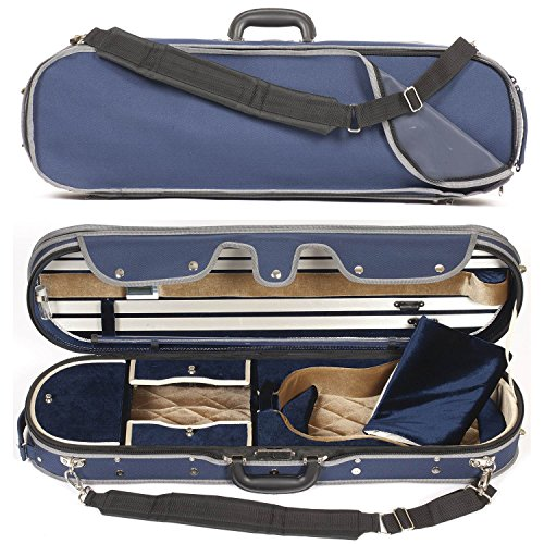 Elliptical Core - Core 575 Elliptical 4/4 Violin Case - Blue Velvet Interior