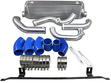 fmic Intercooler Kit para 02 - 05 Audi A4 B6 1.8T Turbo: Amazon.es: Coche y moto