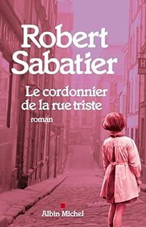 Le cordonnier de la rue triste par Sabatier