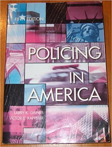 Book Policing In America by Larry K. Gaines (2005-01-01)