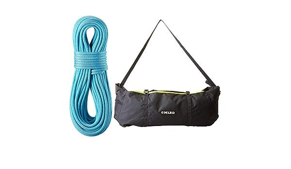 EDELRID Boa 9.8 Cuerda de escalada con bolsa de cuerda ...