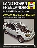 Land Rover Freelander Diesel Service and Repair Manual: 2006 - 2014 (Haynes Service and Repair Manuals) by Martynn Randall (13-Aug-2014) Paperback