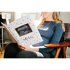 Pearhead First 5 Years Baby Memory Book with Sonogram Photo...